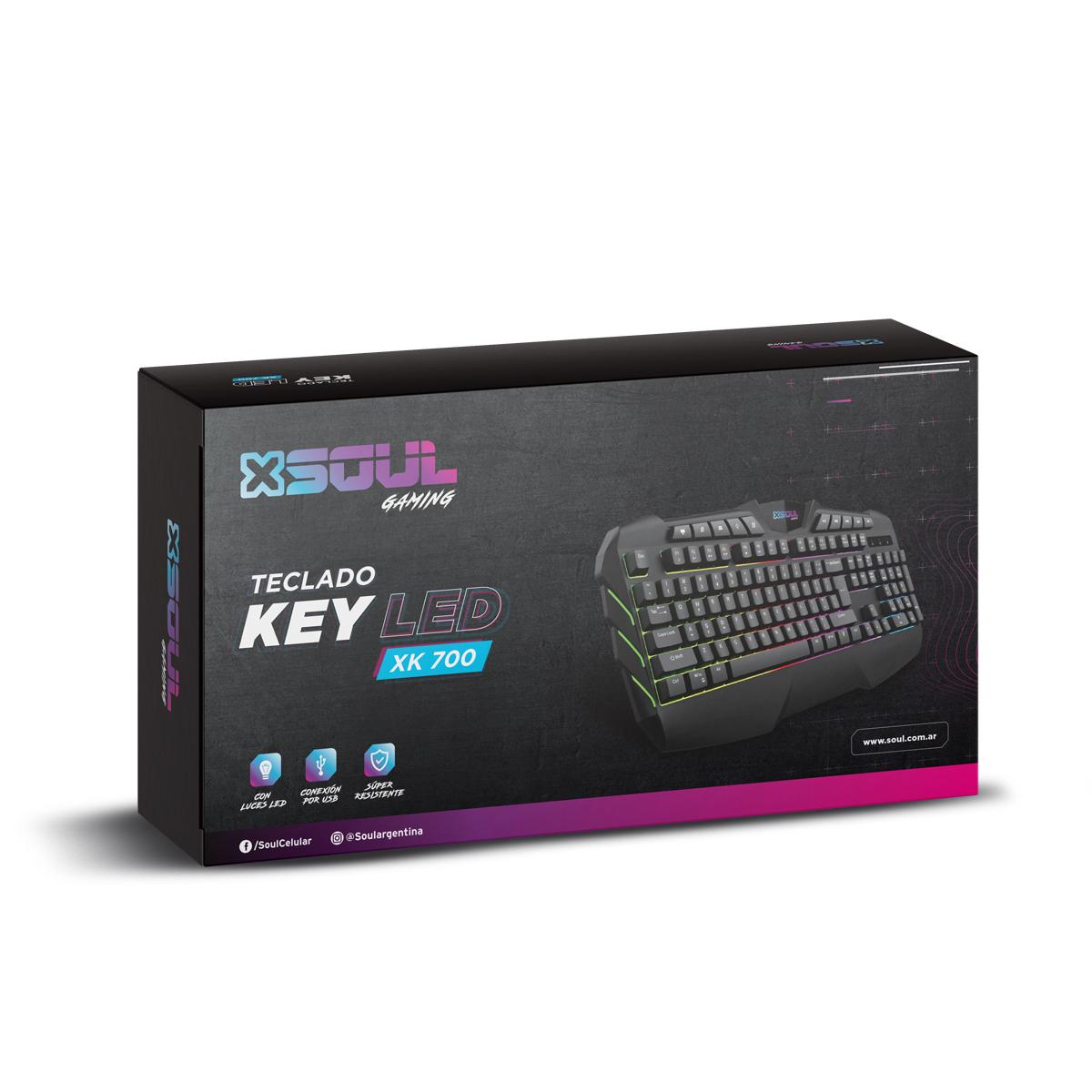 Teclado Gaming XK700