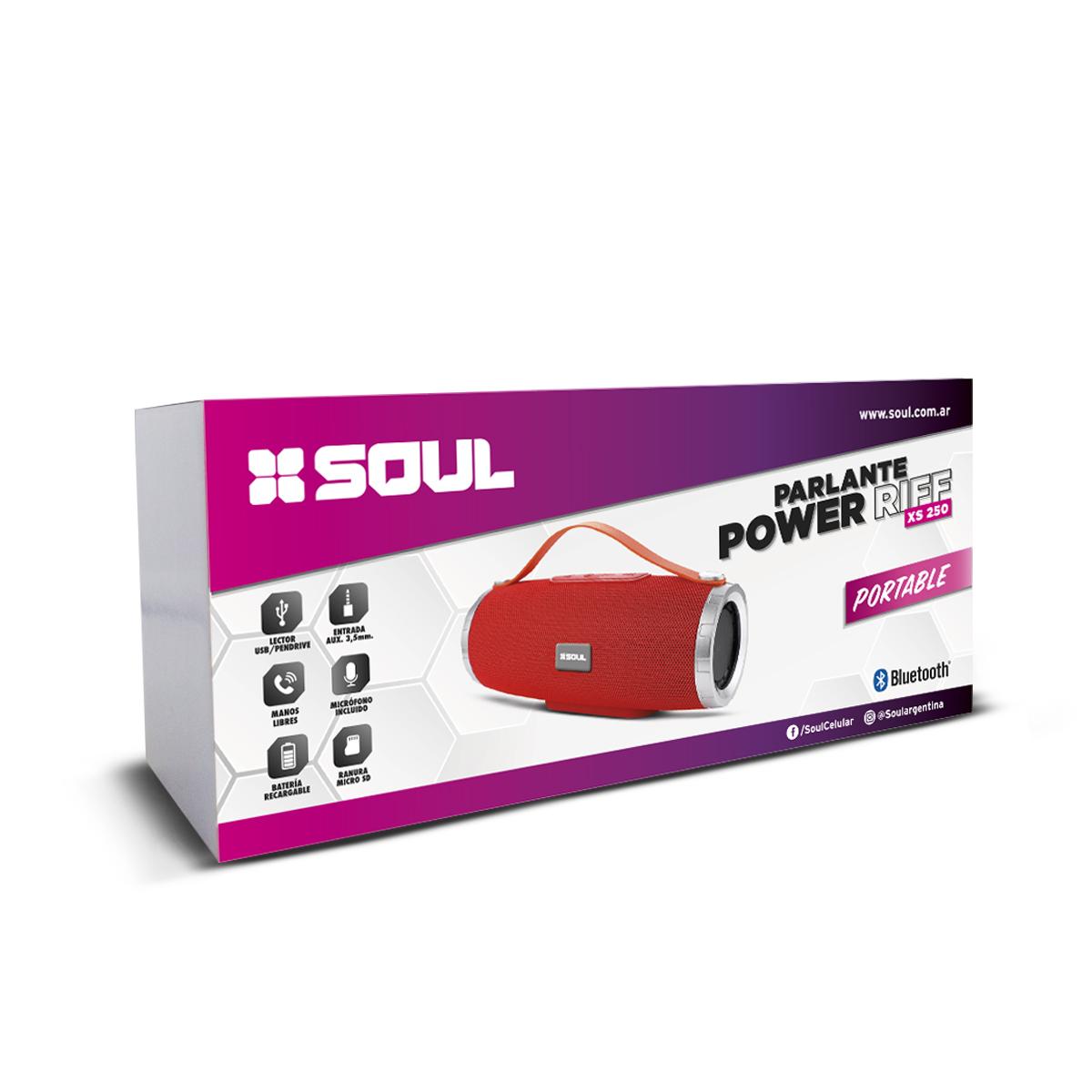 Parlante Power Riff XS250