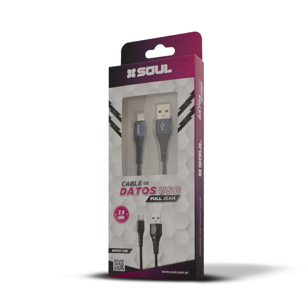 Cable de datos USB Full Jean