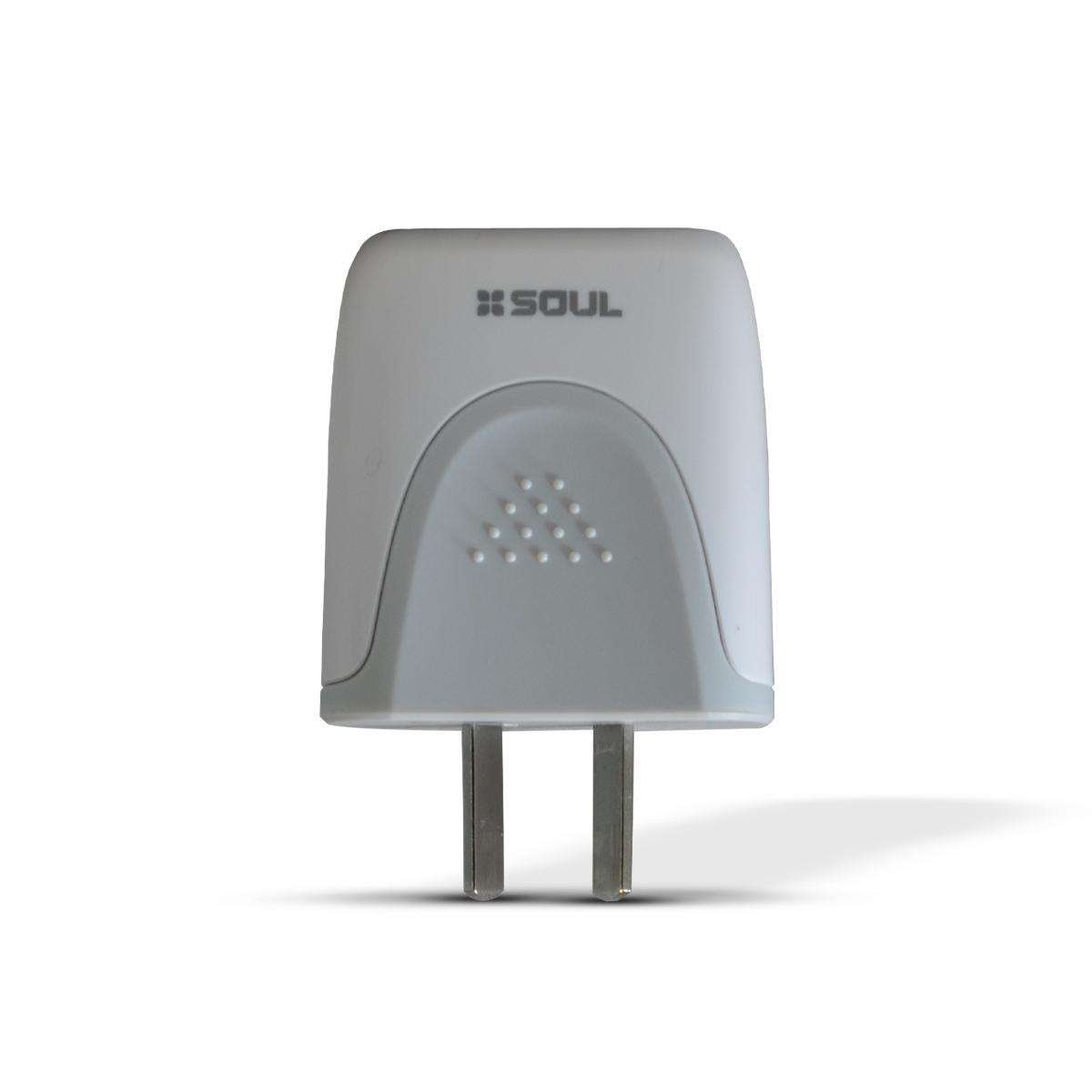 Cargador Doble USB 2000 mAh + Cable