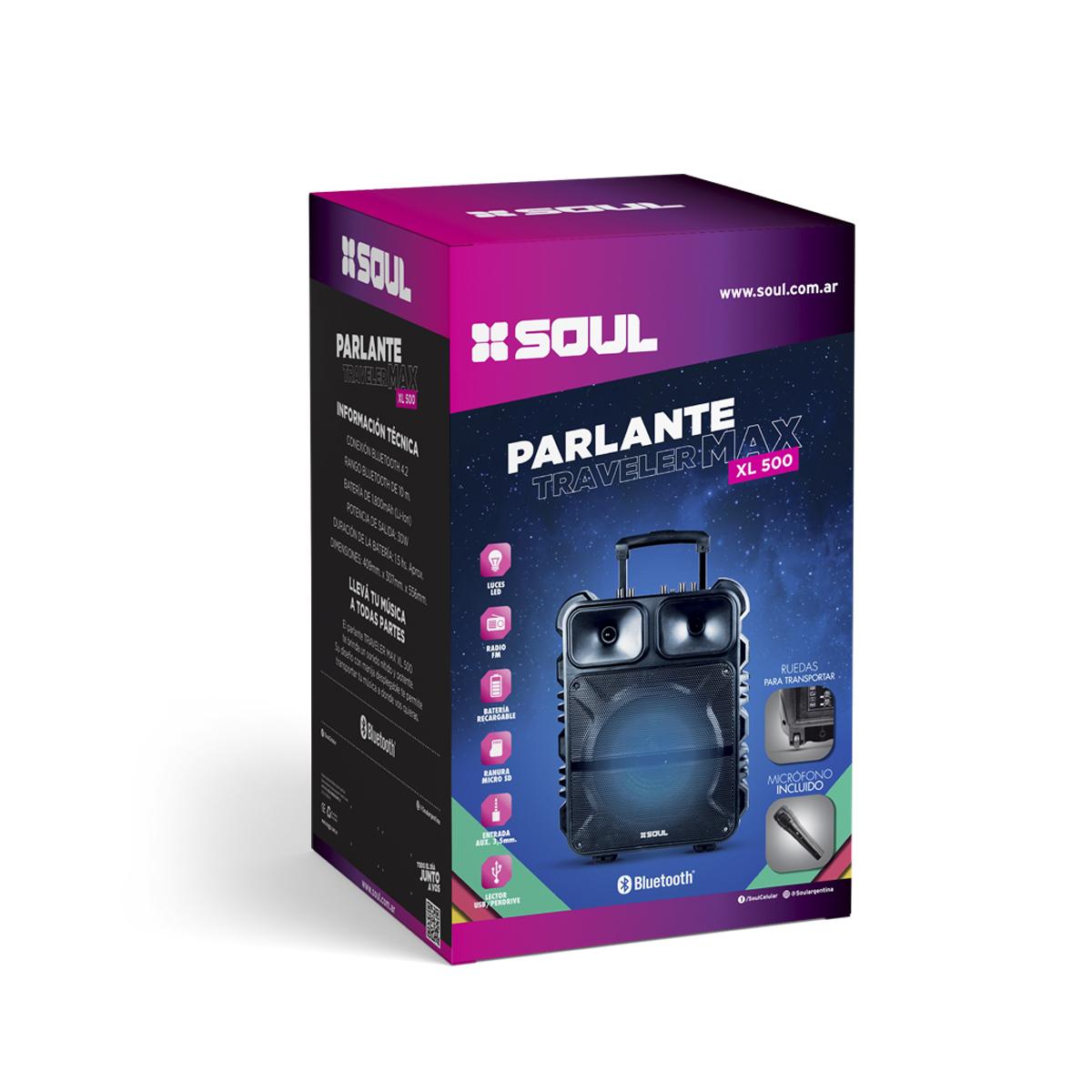 Parlante Traveler Max XL500