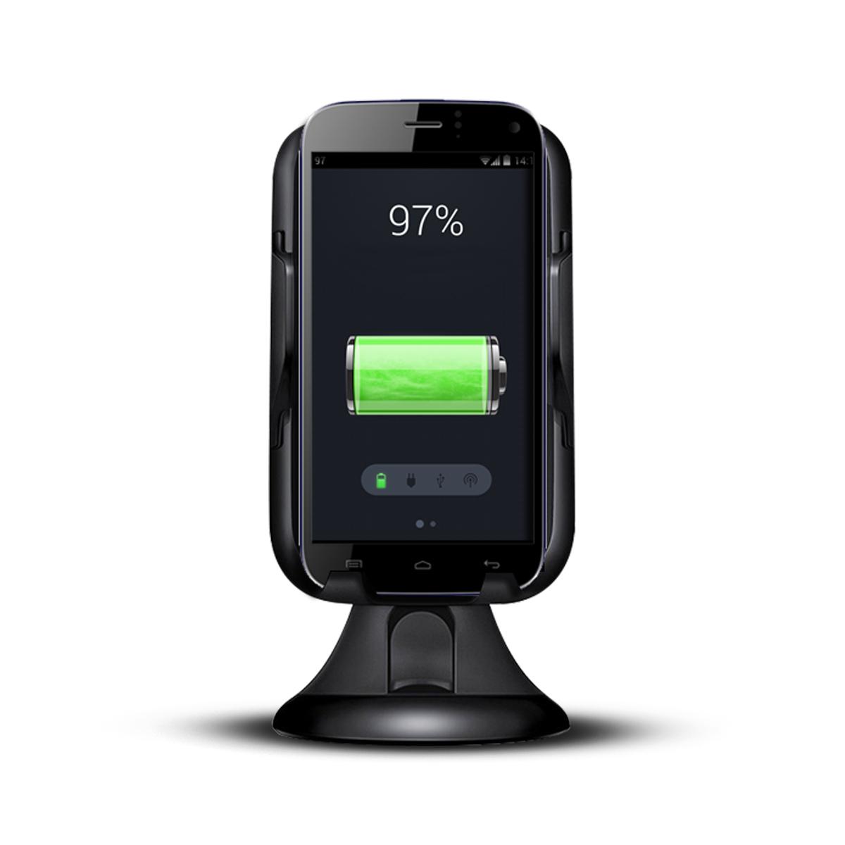 Soporte con Carga Inalámbrica Wireless