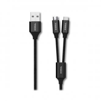 CABLE DE DATOS - Cable de Carga 2 en 1