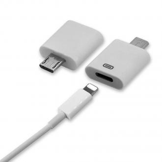 ADAPTADORES - Adaptador Micro USB a IPH
